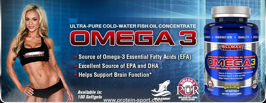 AllMax Nutrition Omega 3 180 softgels
