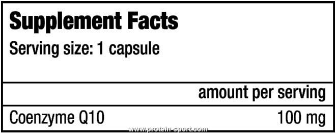 BioTech  Coenzyme Q10 60 капсул