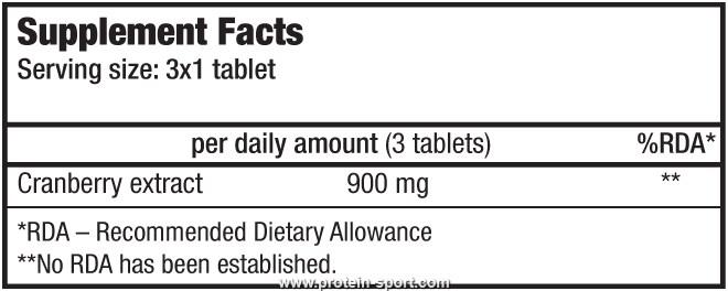 BioTech Cranberry Supreme  60 таблеток
