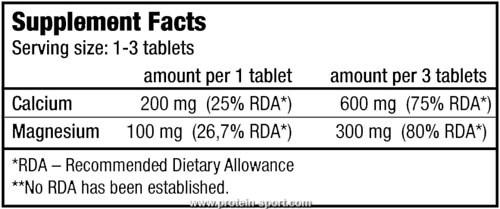 BioTech Coral Calcium Magnesium  100 таблеток