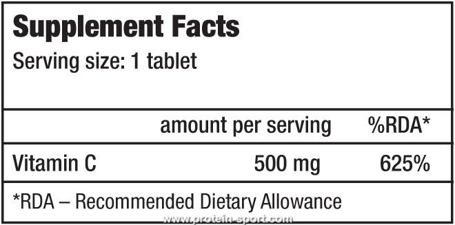 BioTech Vitamine C 500 chewing tabs 120 таблеток