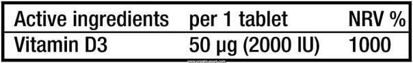 BioTech Vitamin D3 50mcg 60 капсул