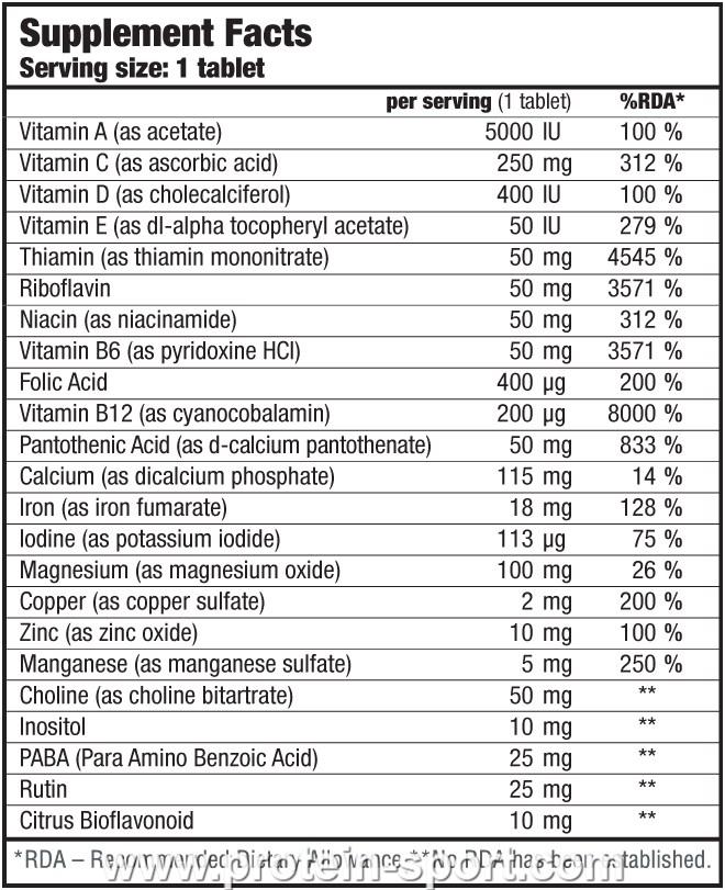 BioTech Vitabolic 30 таблеток