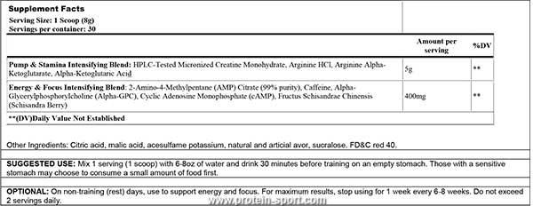 купить Cloma Pharma Methyldrene AMP (270 рамм)
