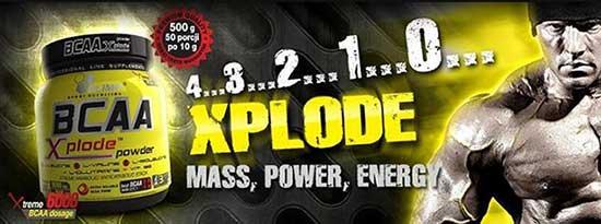 баннер OLIMP BCAA XPLODE Powder (500 грам)