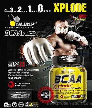 баннер OLIMP BCAA XPLODE Powder (1000 грамм)