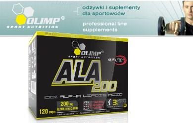 баннер OLIMP ALA 200 (120 капсул)