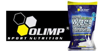 баннер Olimp 100 % Natural Whey Protein Concentrate (700 грамм)