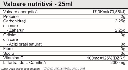 Pro Nutrition Carnimax 2000 20 ампул