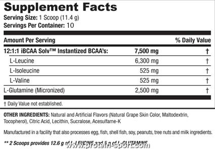 SAN BCAA Pro Reloaded (114 грамм)